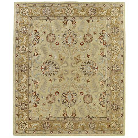 Kaleen Solomon 4053-05 Joab Gold Wool Area Rug