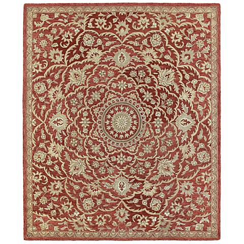 Kaleen Solomon 4055-25 Nehemiah Red Wool Area Rug