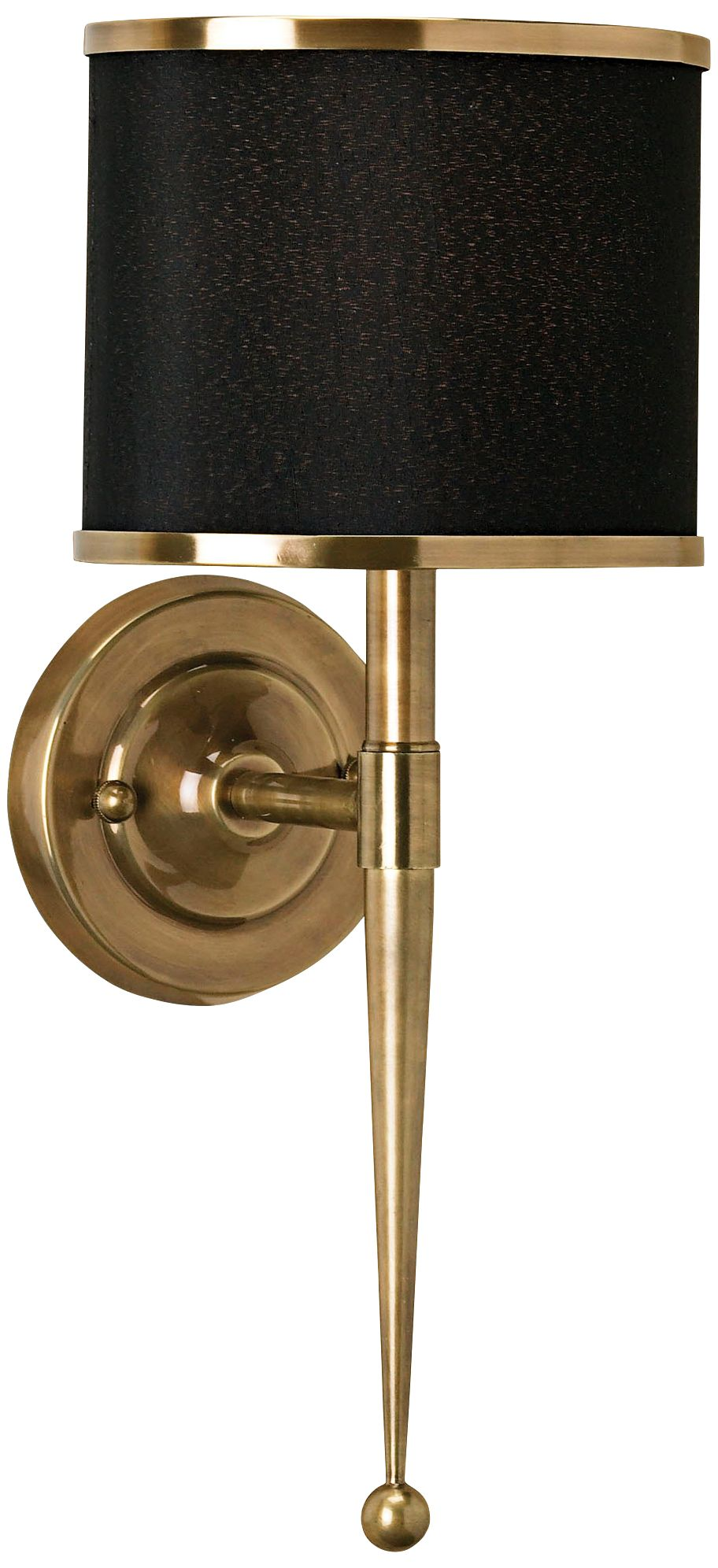 Currey and Company Primo 19  High Brass Wall Sconce  sc 1 st  L&s Plus & Brass - Antique Brass Traditional Sconces | Lamps Plus azcodes.com