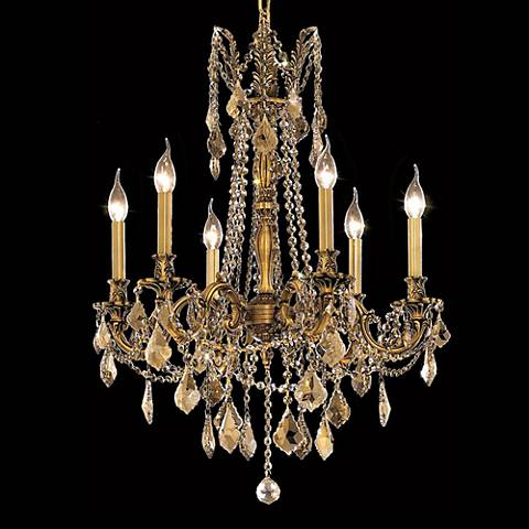 "Rosalia Collection 23"" Wide French Gold Chandelier"