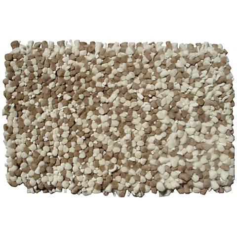 Bergamo Beige Shag Doormat