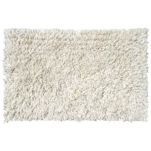 San Remo Ivory Shag Doormat