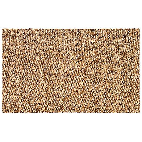 Barcelona Brown Shag Doormat