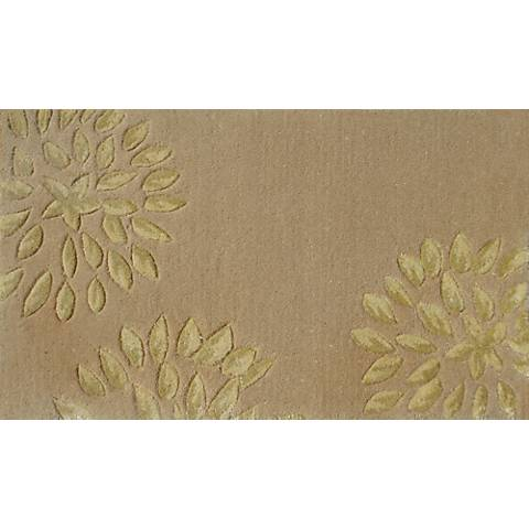 Charlotte Cream and Gold Doormat