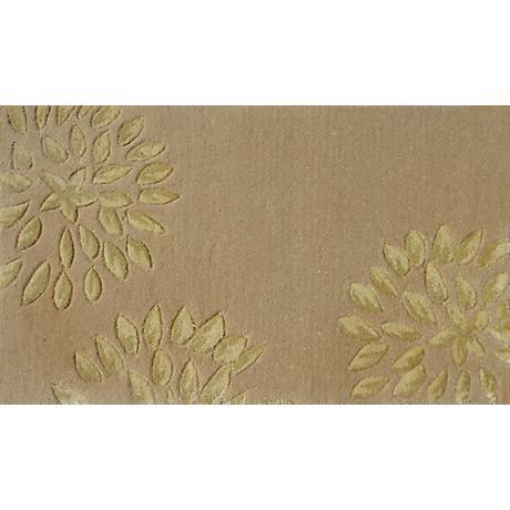 Charlotte Cream and Gold Doormat