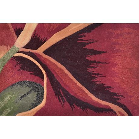 Aruba Green and Red Doormat