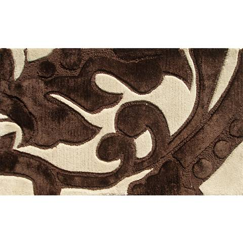 Leoni Cream and Brown Doormat
