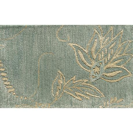 Maison Henna Turquoise Floral Doormat