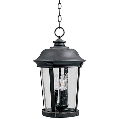 "Maxim Dover DC 17"" High Bronze Outdoor Hanging Lantern"