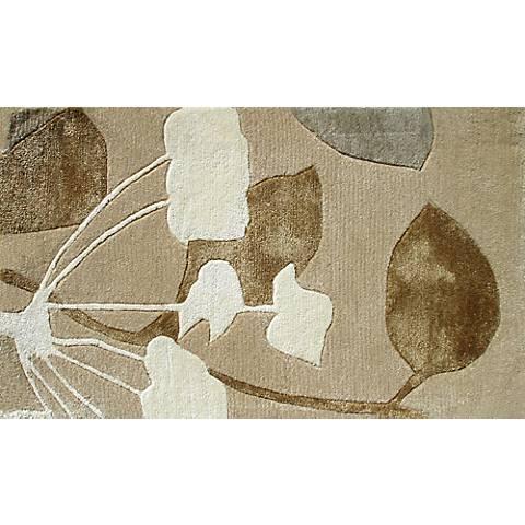 Walden Silver and Brown Doormat