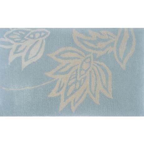 Henna Aqua Blue Doormat