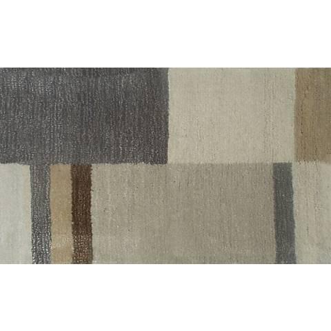 Westlynn Beige and Gray Doormat