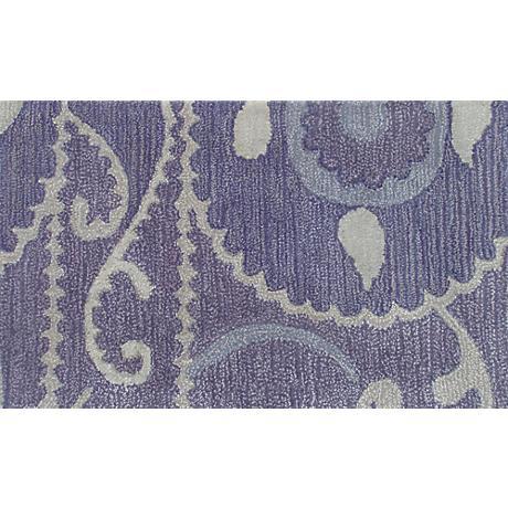 Suzani Tile Lavender Doormat