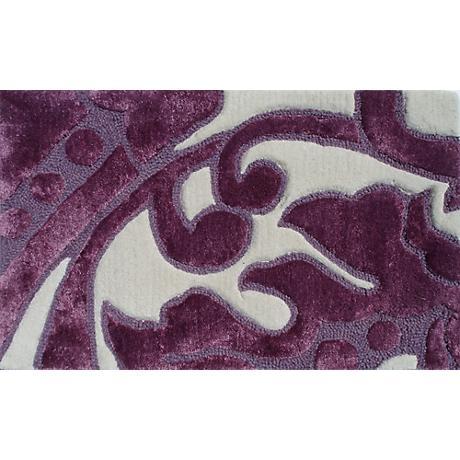 Leoni Lavender and Ivory Doormat