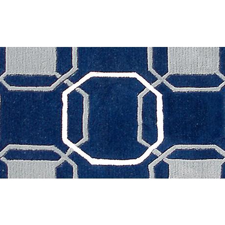 Westover Navy and Gray Doormat