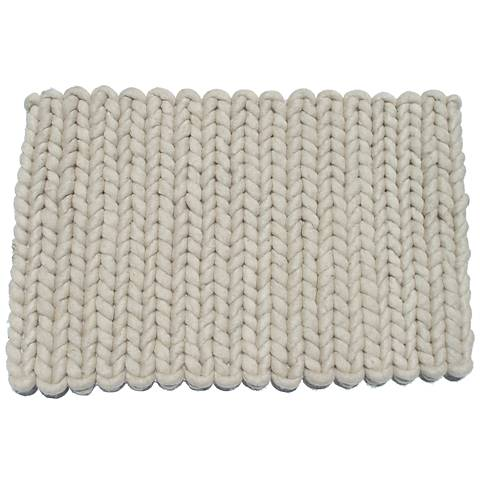 San Juan Light Gray Doormat
