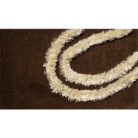 New West Chocolate and Ivory Doormat