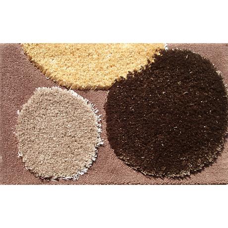 Wingtip Brown and Tan Doormat