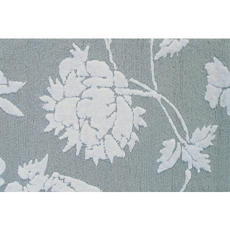 Sara Gray and White Doormat