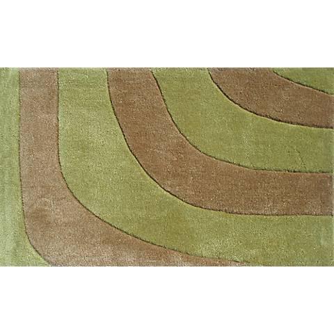 Delphi Green and Brown Doormat