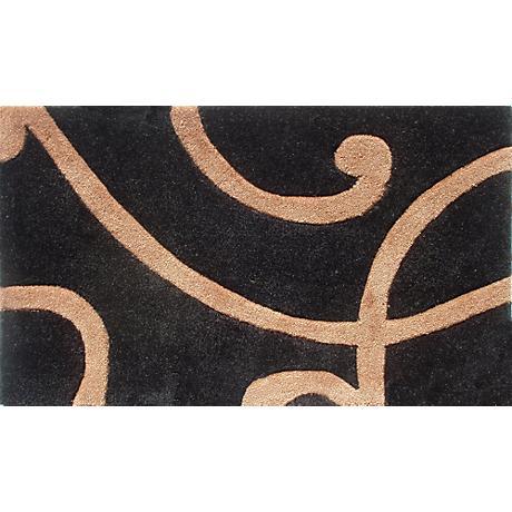 Barney's Black and Copper Doormat