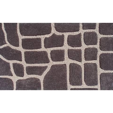 Croc Brown Doormat