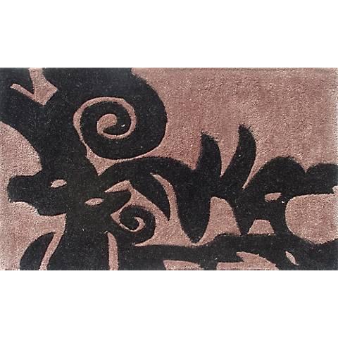 Cosa Bella Chocolate and Black Doormat