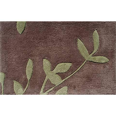 Botanica Green and Brown Doormat