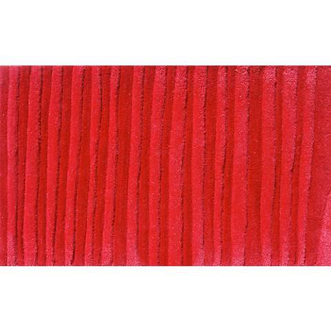 Wavy Red Doormat