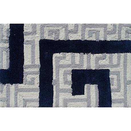 Rome Navy Doormat