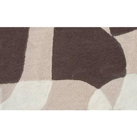 Denali Cream and Brown Doormat