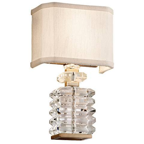 "Corbett First Date 13 1/4"" High Parisian Wall Sconce"