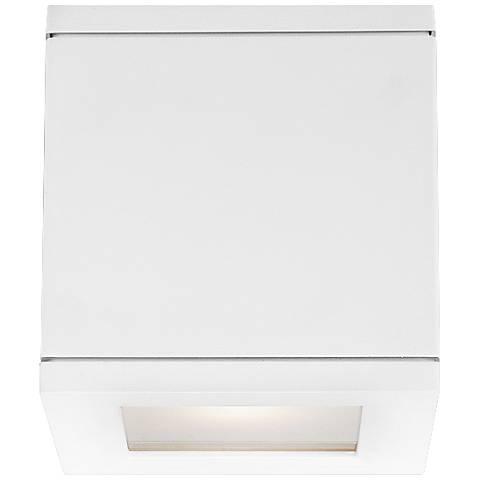 "WAC Rubix 5"" High White LED Up - Downlight"