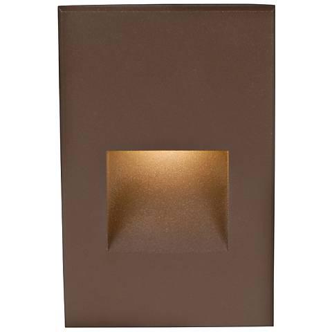 "WAC LEDme® 5"" High Bronze Step Light"