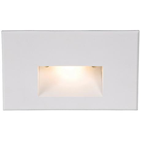 "WAC LEDme® 5"" Wide White Step Light"