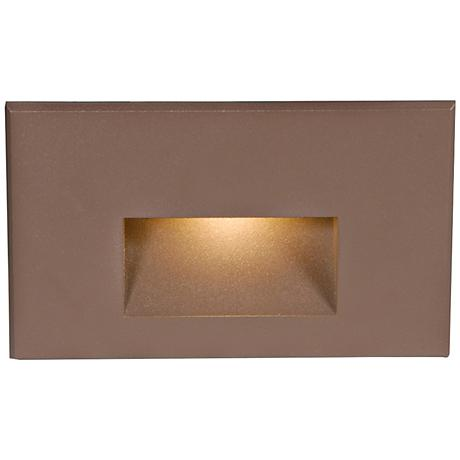 "WAC LEDme® 5"" Wide Bronze Step Light"