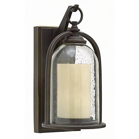 """Hinkley Quincy 13 1/2"""" High Bronze Outdoor Wall Light"""