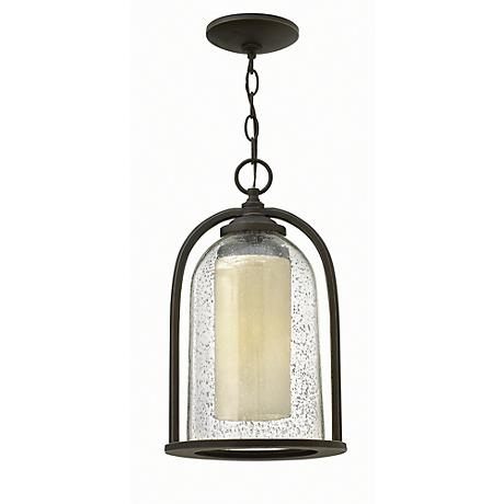 "Hinkley Quincy 15 1/2"" High Hanging Outdoor Light"