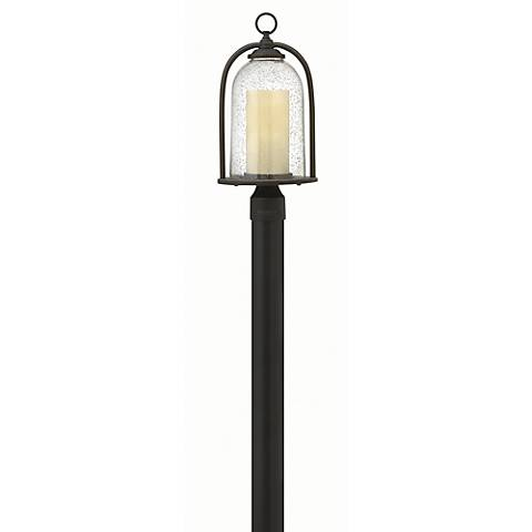 "Hinkley Quincy 18 3/4"" High Bronze Outdoor Post Light"