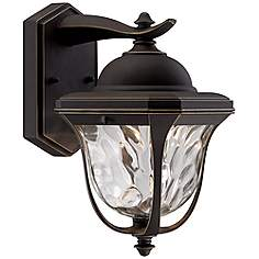 Marquette 10 1 2 High Led Bronze Outdoor Wall Light