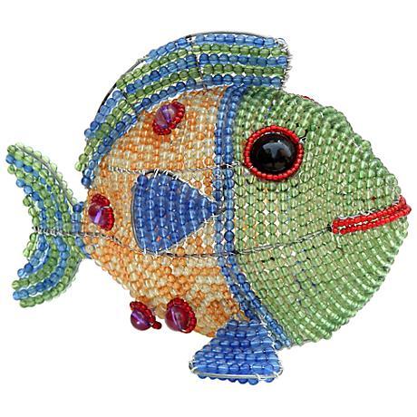 Beadworx Fish Hand-Crafted Beaded Night Light