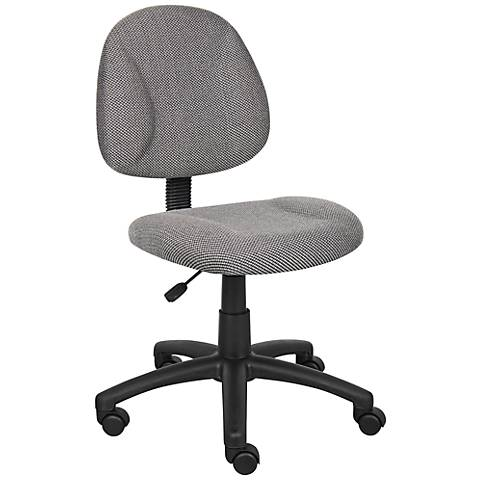 Boss Gray Deluxe Posture Chair
