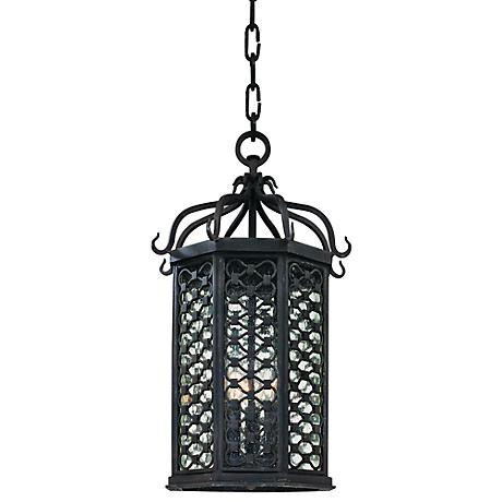 """Los Olivos Collection 20"""" High Outdoor Hanging Light"""