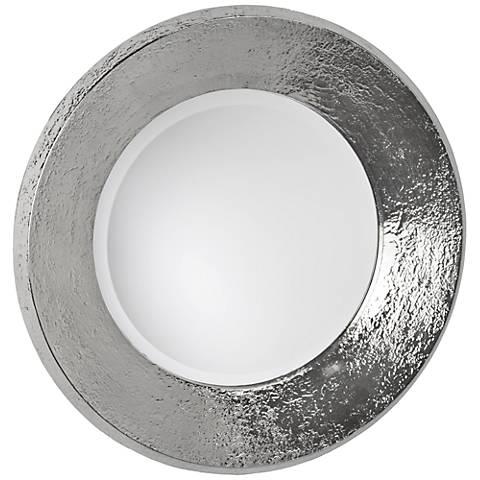 "Regina Andrew Design Nickel Plated Concave 24"" Wall Mirror"