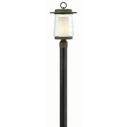 """Hinkley Riley 18 1/2"""" High Bronze Outdoor Post Light"""
