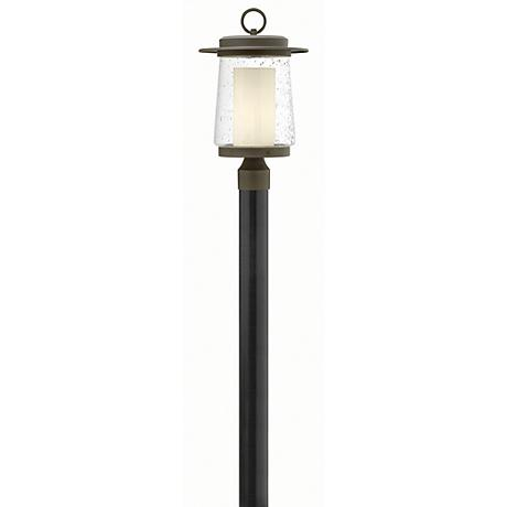 "Hinkley Riley 18 1/2"" High Bronze Outdoor Post Light"