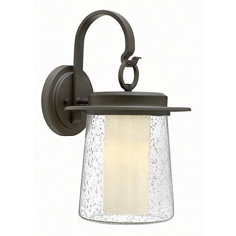 """Hinkley Riley 18 3/4"""" High Halogen Outdoor Wall Light"""