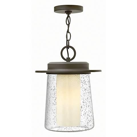 "Hinkley Riley 14"" High Halogen Outdoor Hanging Light"
