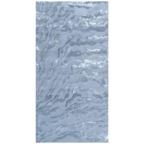 Maison Kiawah 44445 Arctic Ice Wool Area Rug