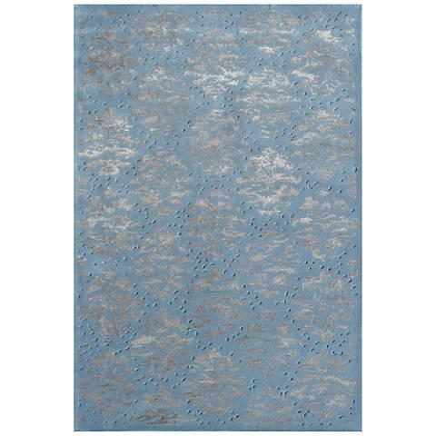 Maison Captiva Blue 44481 Wool Area Rug